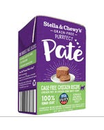 Stella & Chewy's Grain-Free Purrfect Paté Wet Food for Cats - Cage-Free Chicken
