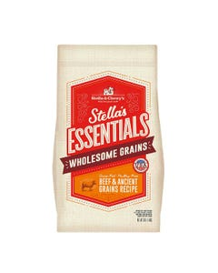 Stella & Chewy's Essentials Wholesome Grains Dog Food - Grass-Fed Beef & Ancient Grains Recipe