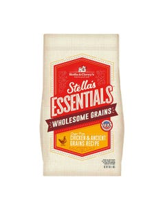 Stella & Chewy's Essentials Wholesome Grains Dog Food - Cage-Free Chicken & Ancient Grains Recipe