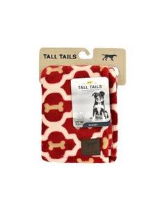 Tall Tails Fluffy Fleece Blanket - Red Bones