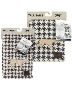 Tall Tails Fluffy Fleece Blanket - Houndstooth