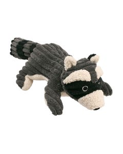 Tall Tails Raccoon Toy with Squeaker
