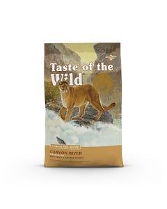Taste of the Wild Canyon River Feline Formula