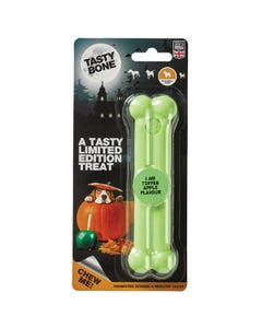 Tasty Bone Nylon Halloween Bone - Pumpkin