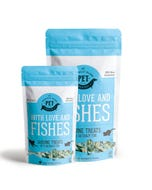 The Granville Island Pet Treatery - With Love and Fishes - two sizes
