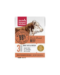 The Honest Kitchen Meal Booster for Dogs - 99% Beef