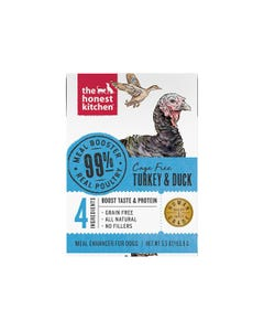 The Honest Kitchen Meal Booster for Dogs - 99% Turkey & Duck