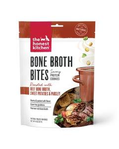 The Honest Kitchen Bone Broth Bites Dog Treats - Roasted With Beef Bone Broth & Sweet Potatoes