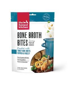 The Honest Kitchen Bone Broth Bites Dog Treats - Turkey Bone Broth & Pumpkin
