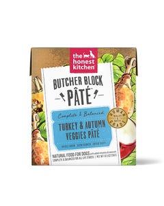 The Honest Kitchen Butcher Block Pâté Wet Dog Food - Turkey & Autumn Veggies