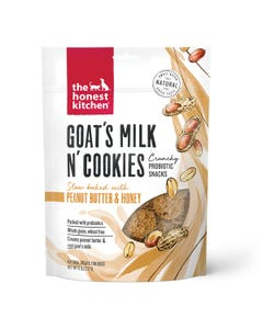 The Honest Kitchen Goat's Milk N' Cookies - Slow Baked With Peanut Butter & Honey