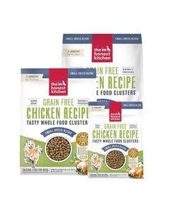 The Honest Kitchen Whole Food Clusters for Small Dog Breeds - Grain Free Chicken