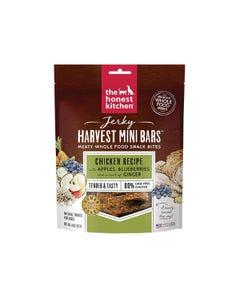 The Honest Kitchen Jerky Harvest Mini Bars - Chicken Recipe with Apples & Blueberries