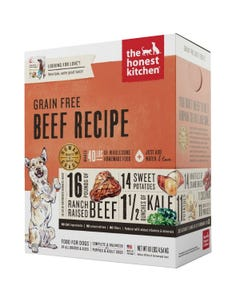 The Honest Kitchen Dehydrated Grain Free Beef Recipe (Love)