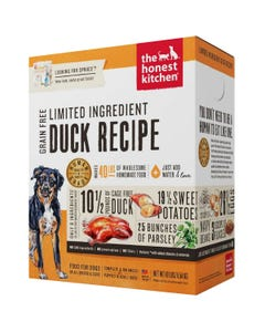 The Honest Kitchen Dehydrated Limited Ingredient Duck Recipe (Spruce)