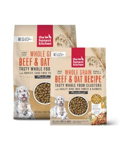 The Honest Kitchen Whole Food Clusters for Dogs - Whole Grain Beef & Turkey