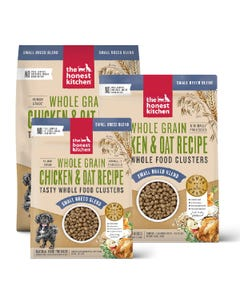 The Honest Kitchen Whole Food Clusters for Small Dog Breeds - Whole Grain Chicken