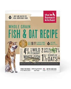The Honest Kitchen Dehydrated Whole Grain Fish & Oat