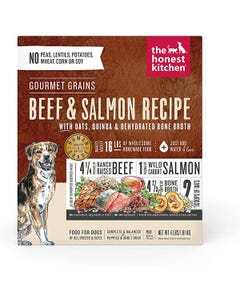 The Honest Kitchen Dehydrated Gourmet Grain Beef & Salmon