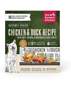 The Honest Kitchen Dehydrated Gourmet Grain Chicken & Duck