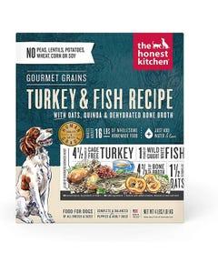The Honest Kitchen Dehydrated Gourmet Grain Turkey & Fish Recipe