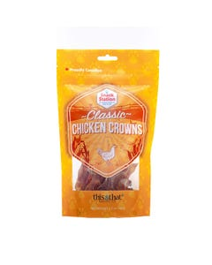 This & That Snack Station Dog Treats - Classic Chicken Crown