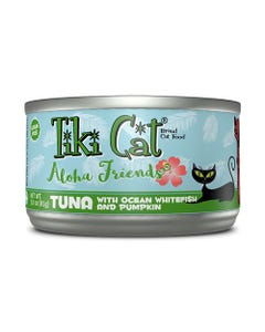 Tiki Cat Aloha Friends Wet Cat Food - Tuna with Ocean Whitefish and Pumpkin