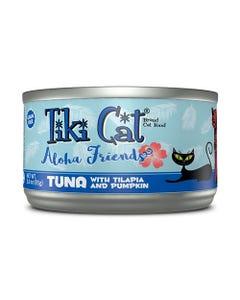 Tiki Cat Aloha Friends Wet Cat Food - Tuna with Tilapia and Pumpkin