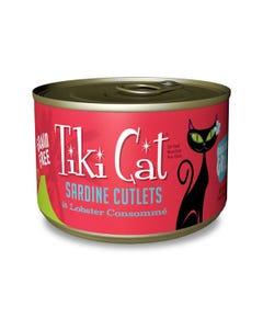 Tiki Cat Wet Cat Food - Bora Bora Grill Sardine Cutlets