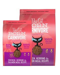 Tiki Cat Born Carnivore - Chicken, Herring & Salmon