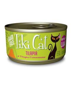 Tiki Cat Wet Cat Food - Kapi'Olani Luau Tilapia