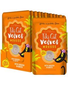 Tiki Cat Velvet Mousse - Chicken in Broth