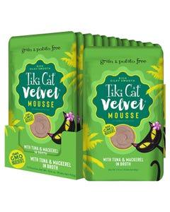 Tiki Cat Velvet Mousse - Tuna & Mackerel