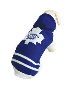NHL Dog Sweater - Toronto Maple Leafs