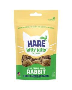 Hare of the Dog Hare Kitty Kitty Freeze Dried Rabbit Cat Treats