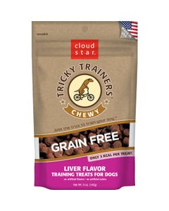 Cloud Star Grain Free Chewy Tricky Trainers - Liver