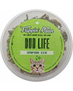 Trippin' Paws Bud Life Catnip Tub