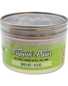 Trippin' Paws Bud Life Catnip Tin