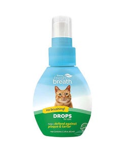 Tropiclean Fresh Breath Drops for Cats