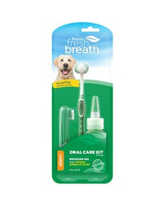 Tropiclean Fresh Breath Oral Care Kit for Large Dogs