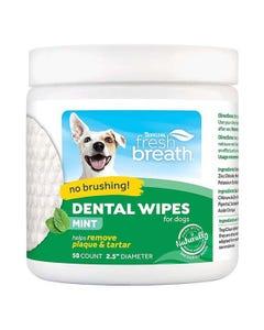 Tropiclean Fresh Breath Dental Wipes