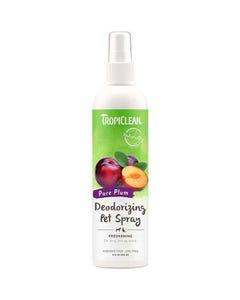 Tropiclean Pure Plum Deodorizing Spray for Pets