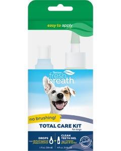 Tropiclean Fresh Breath No Brushing Total Care Kit