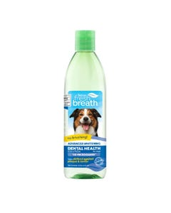 TropiClean Oral Care Water Additive for Dogs Plus Advance Whitening