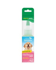 TropiClean Fresh Breath Oral Care Gel for Puppies