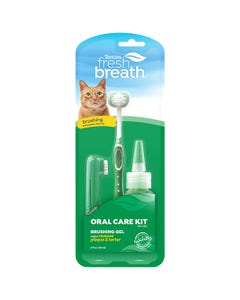 Tropiclean Fresh Breath Oral Care Kit for Cats