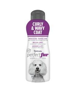 Tropiclean Perfectfur Curly & Wavy Coat Shampoo for Dogs