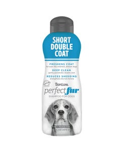 Tropiclean Perfectfur Short Double Coat Shampoo for Dogs