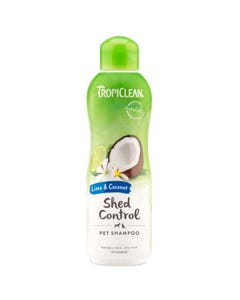 Tropiclean Lime & Coconut Shed Control Pet Shampoo