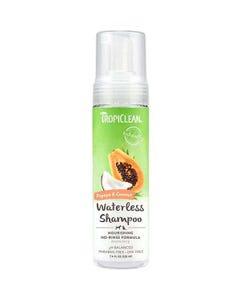 Tropiclean Papaya and Coconut Foaming Waterless Shampoo